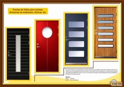 Catalogo de productos - Puertas de cristal para cocinas ...